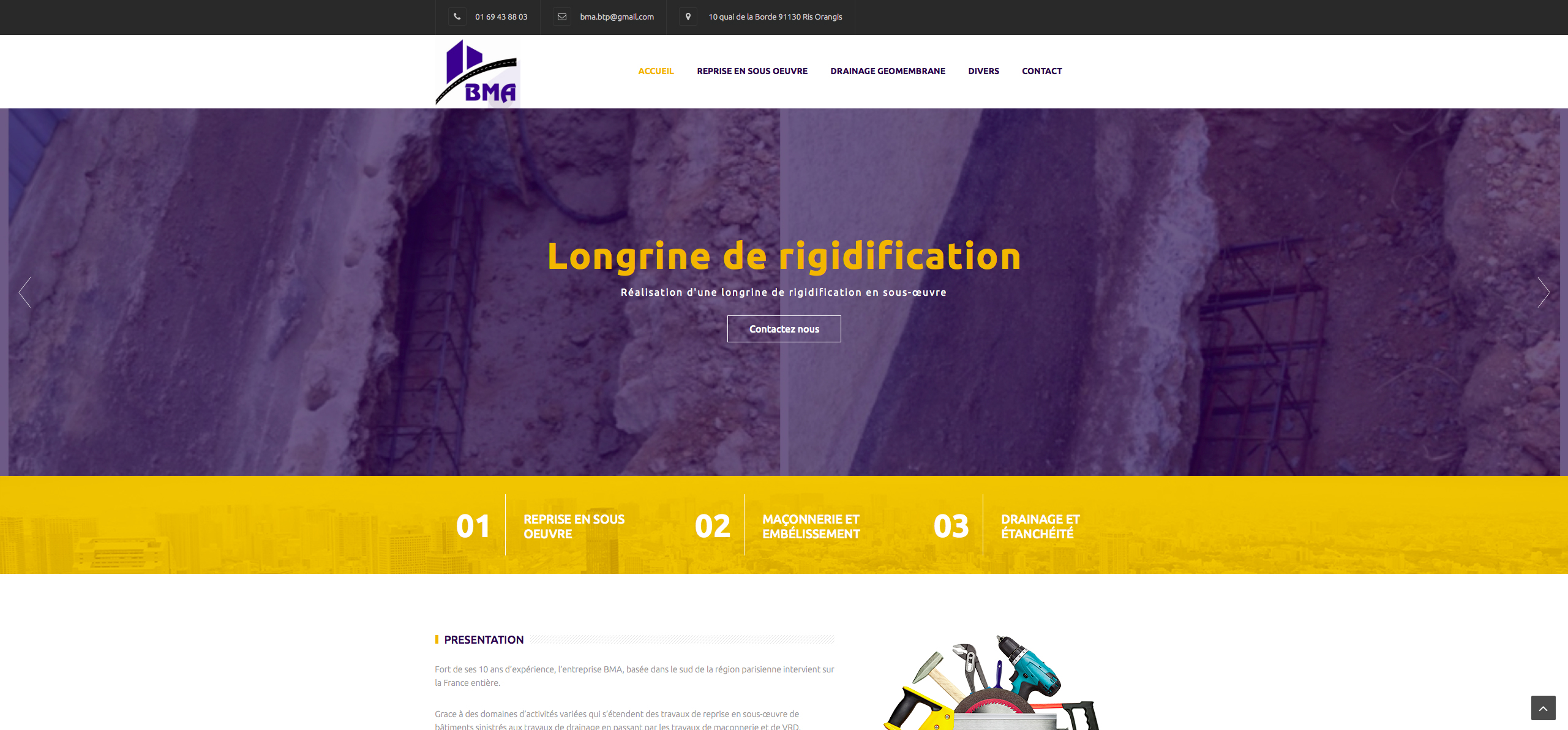 creation site Montargis